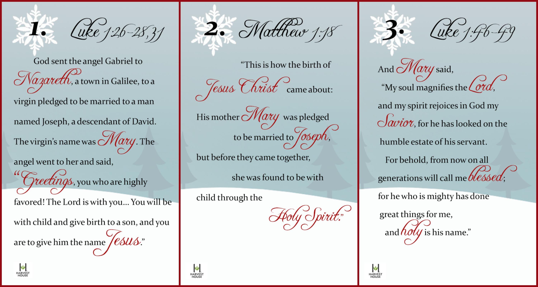 Religious Advent Calendar Ideas : A christmas gift from harvest house to your house advent calendar